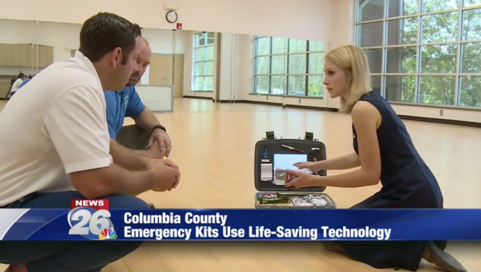NEWS: Columbia County first in the state to use unique, lifesaving technology