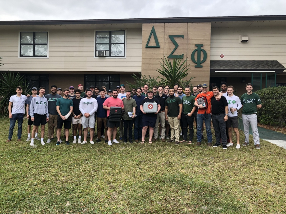 Delta Sigma Phi Fraternity Leaders Empower House to Save Lives with the Award-Winning Mobilize Rescue App - at Stetson University